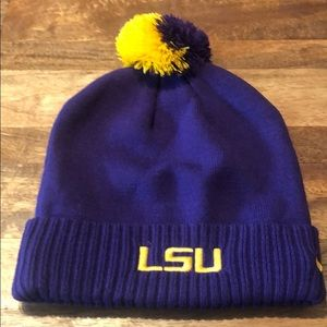 NIKE LSU Purple & Gold Beanie 💜💛